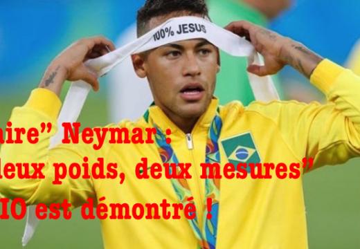 Affaire Neymar : le CIO se défausse et  botte en touche…