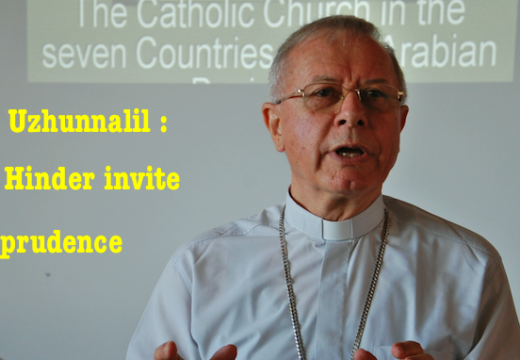 Père Uzhunnalil : Mgr Paul Hinder réservé…