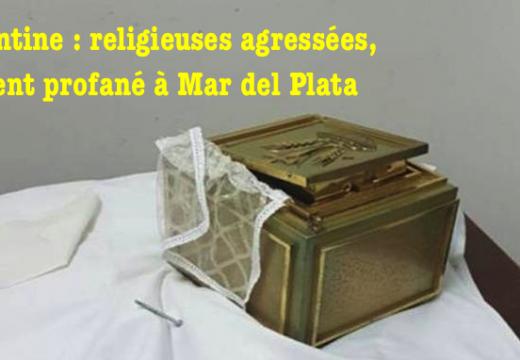 Argentine : agression contre des religieuses et profanation dans leur couvent