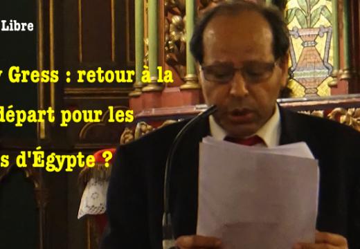 Sobhy Gress : Coptes d'Égypte, après deux révolutions, retour à la case de départ