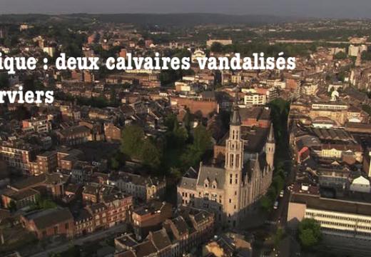 Belgique : deux calvaires vandalisés à Verviers