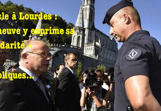 Miracle à Lourdes : Cazeneuve assure les catholiques de sa « solidarité »