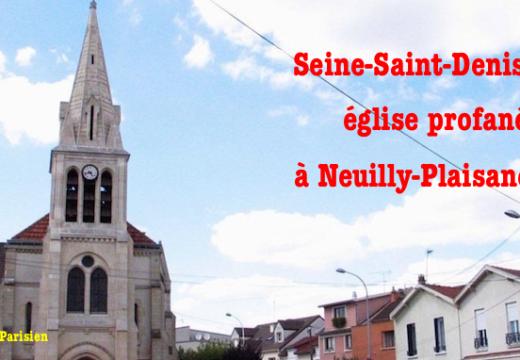 Seine-Saint-Denis : une église profanée et cambriolée à Neuilly-Plaisance