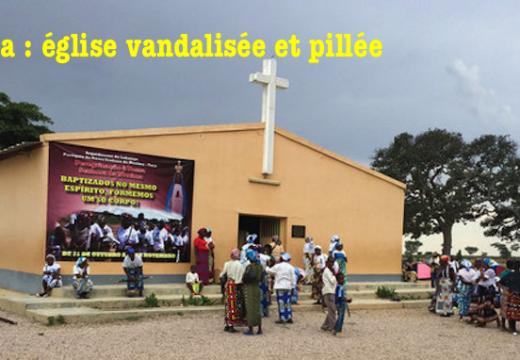 Angola : église vandalisée et pillée à Toco