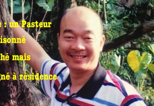 Chine : un pasteur emprisonné relâché dans le Zhejiang