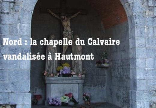 Nord : une chapelle vandalisée à Hautmont