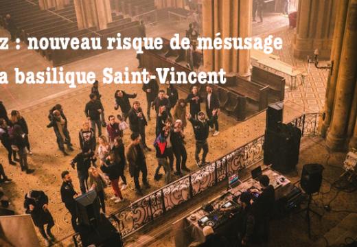 """Metz : crainte à propos d'une soirée """"rock"""" dans la basilique Saint-Vincent"""