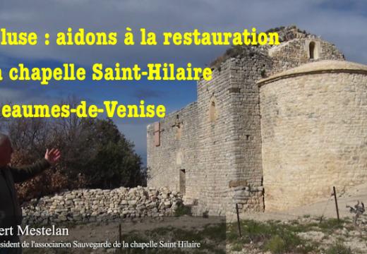 Chapelle Saint-Hilaire : aidons à la reconstruction d'un lieu de culte !