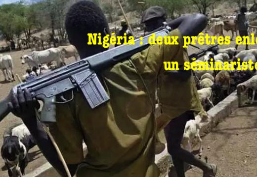 Nigéria : deux prêtres enlevés, un séminariste tué
