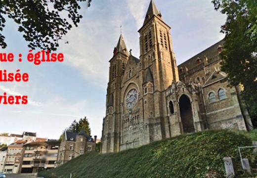 Belgique : église vandalisée à Verviers