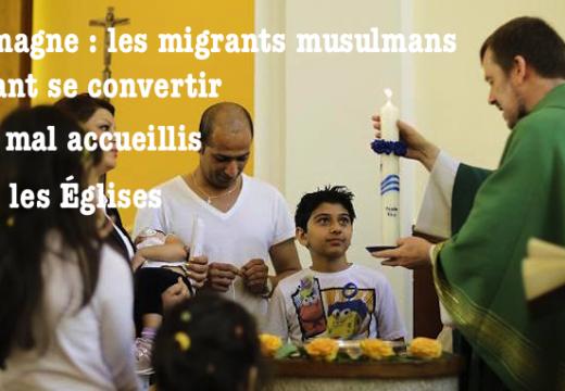 Allemagne : les migrants musulmans voulant se convertir sont mal accueillis