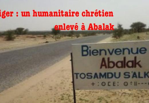 Niger : un humanitaire étatsunien travaillant pour une ONG chrétienne enlevé