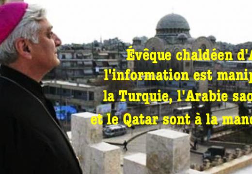 Alep : l'évêque Audo dénonce les manipulations de l'information