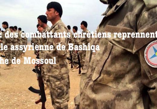 Victoire de combattants chrétiens dans la bataille de Mossoul