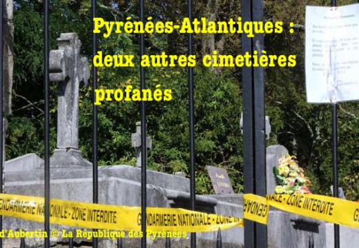 Pyrénées-Atlantiques : deux autres cimetières profanés