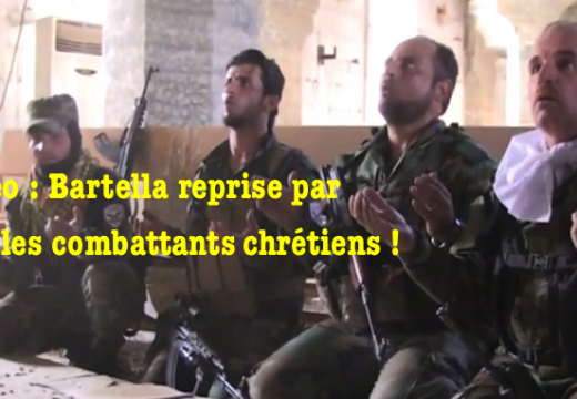 Vidéo : à Bartella la Croix est hissée sur l'église et sa cloche sonne de nouveau…