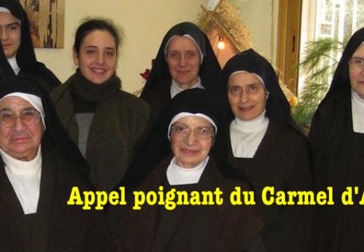 Alep : un appel poignant du Carmel