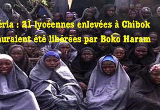 Nigéria : 21 lycéennes libérées par Boko Haram ?