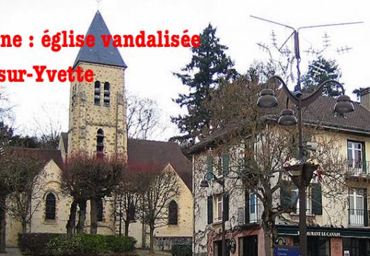 Essonne : église vandalisée à Gif-sur-Yvette