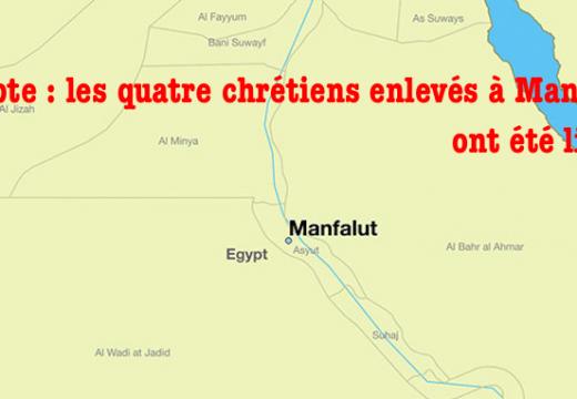 Égypte : les quatre chrétiens enlevés à Manfalout, ont été libérés
