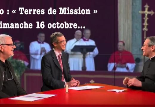 TV Libertés : « Terres de Mission » de ce dimanche, la vidéo de l'émission…