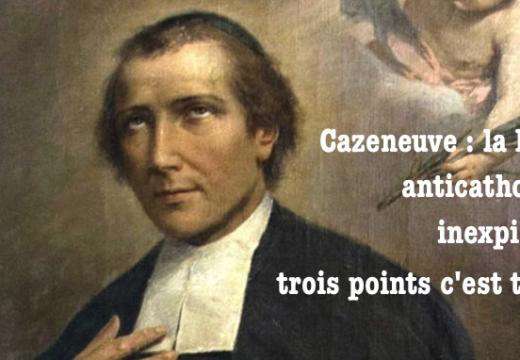 Le Frère Cazeneuve n'aime pas le Frère Salomon…