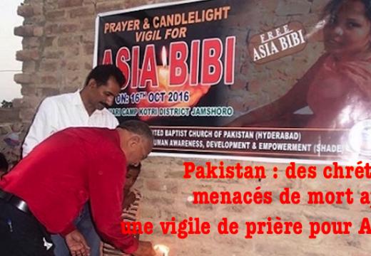 Vigile pour Asia Bibi : des chrétiens menacés de mort à Hyderabad