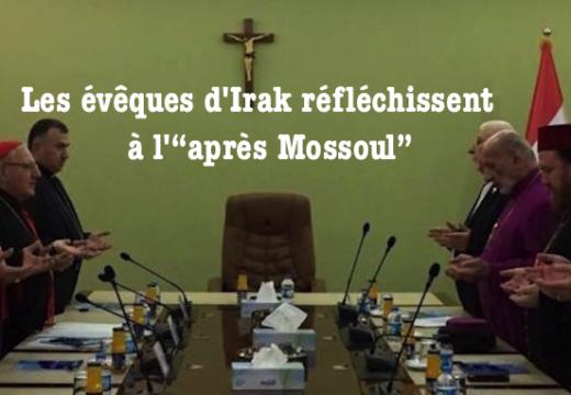"""Irak : les évêques réfléchissent à l'""""après Mossoul"""""""
