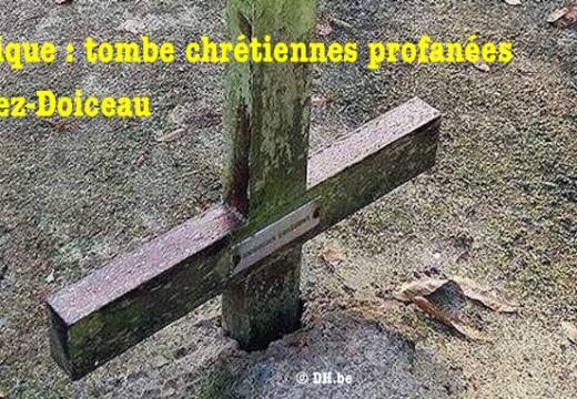 Belgique : tombes chrétiennes profanées à Grez-Doiceau