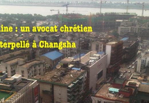 Chine : avocat chrétien interpellé par les autorités