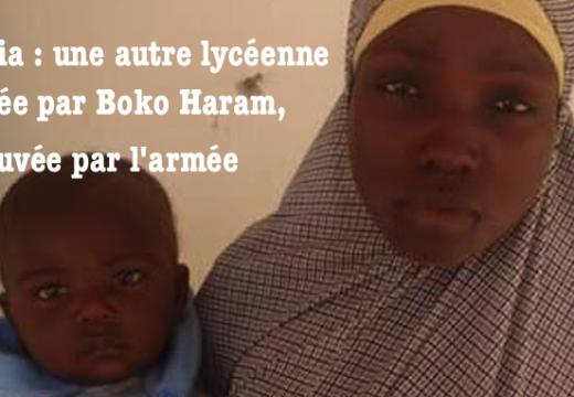 Nigéria : une autre lycéenne enlevée par Boko Haram, retrouvée