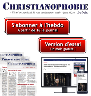 christianophobie abonnement pub