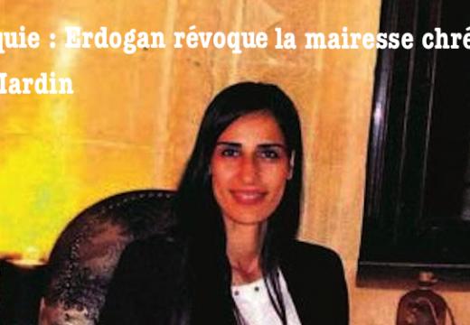 Turquie : la seule mairesse chrétienne du pays a été révoquée