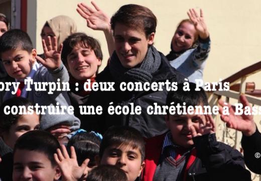 Paris : récitals pour construire une école chrétienne à Bassorah