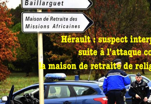 Hérault : suspect interpellé dans l'affaire de Montferrier-sur-Lez