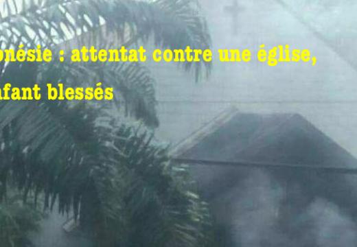 Indonésie : attentat contre une église, quatre enfants blessés