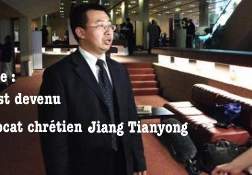 Chine : précisions sur la disparition d'un avocat chrétien