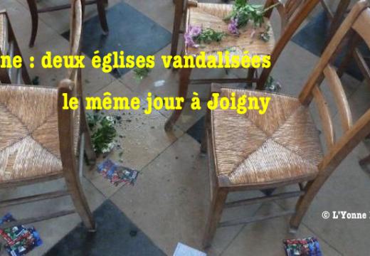 Yonne : deux églises vandalisées le même jour à Joigny
