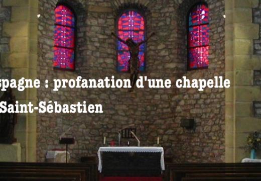 Espagne : nouvelle profanation eucharistique dans le Guipuscoa