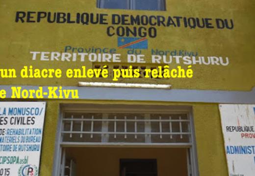 RDC : un diacre catholique enlevé puis libéré