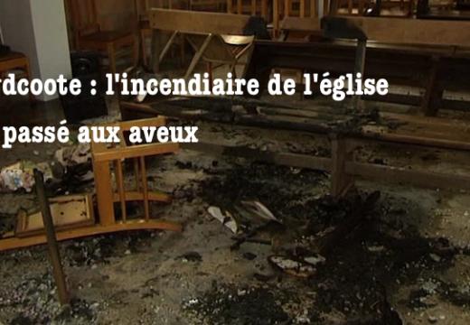 Incendie de l'église de Zuydcoote : un suspect interpellé passe aux aveux