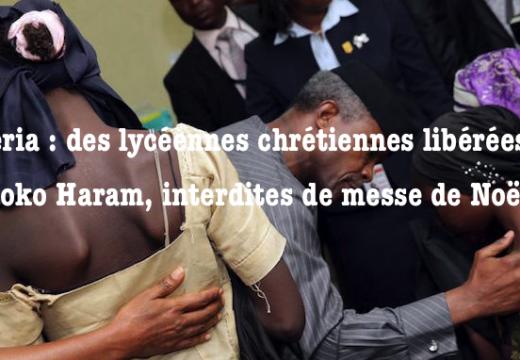Nigéria : des lycéennes rescapées de Chibok privées de messe de Noël