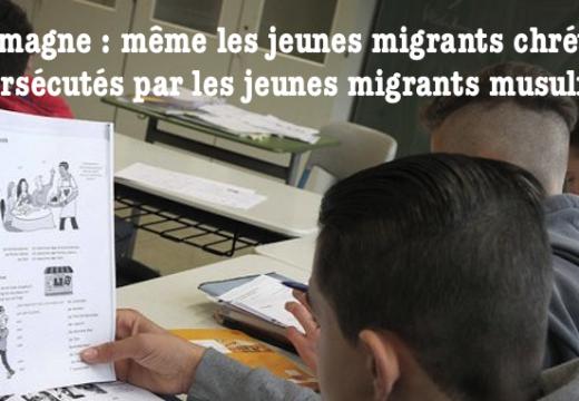 """Allemagne : brutalités de jeunes """"migrants"""" musulmans contre de jeunes chrétiens réfugiés"""