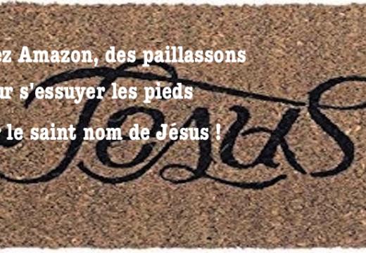 Amazon : on peut s'essuyer les pieds sur Jésus mais plus sur Allah !