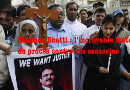 Pakistan : lenteurs dans le procès des assassins de Shahbaz Bhatti