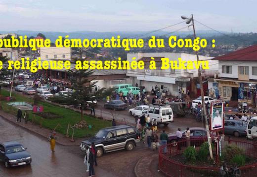 RDC : une religieuse assassinée à Bukavu