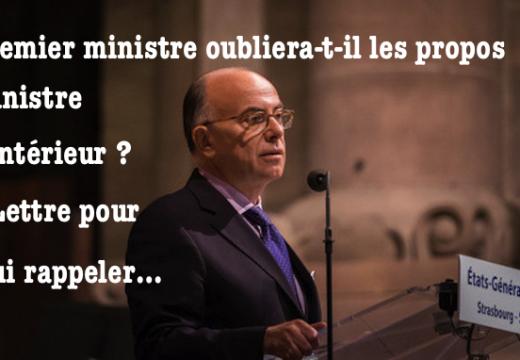 Cazeneuve : que le Premier ministre relise le discours du ministre de l'Intérieur !