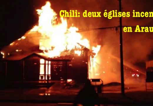 Chili : deux églises incendiées en deux jours…