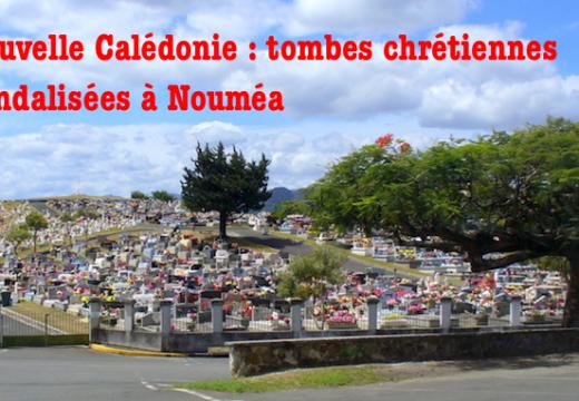 Nouvelle Calédonie : cimetière vandalisé à Nouméa