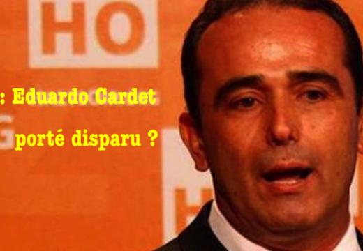 Cuba : Eduardo Cardet porté disparu ?